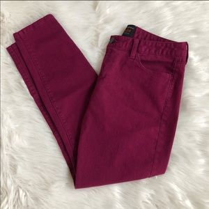 Banana Republic L'Wren Scott Ultra Violet Jeans 28